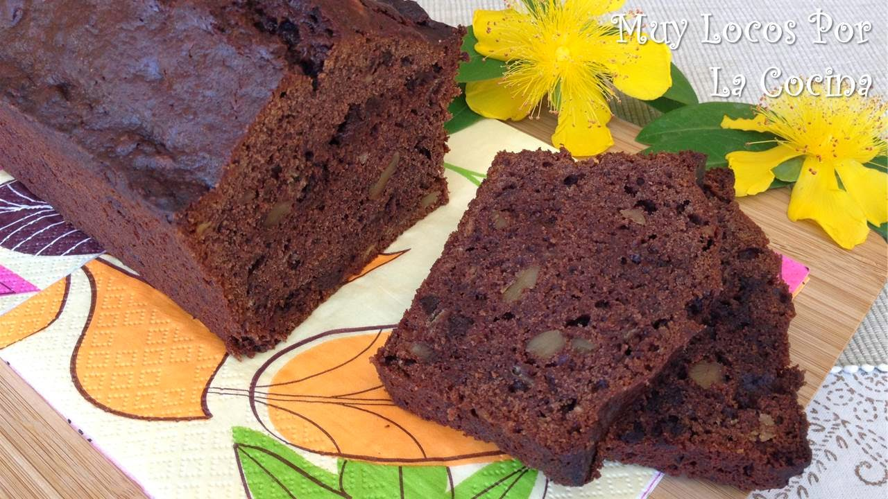 Bizcocho de Chocolate y Plátano (Chocolate Banana Bread)