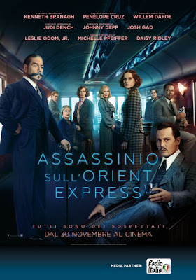 Assassinio Sull'Orient Express Poster Branagh