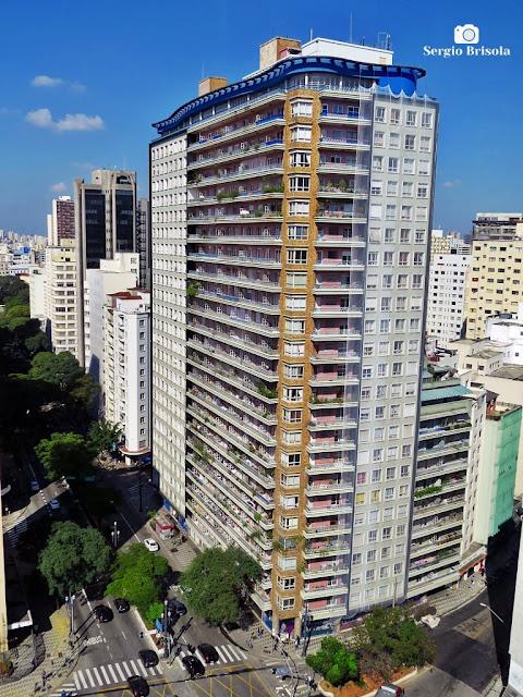 Vista ampla do Edifício Planalto - Bela Vista - São Paulo