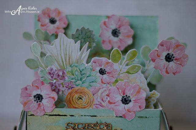 kwiaty z papieru