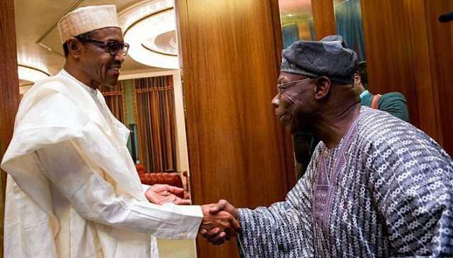 Buhari fails to greet Obasanjo on 81st birthday