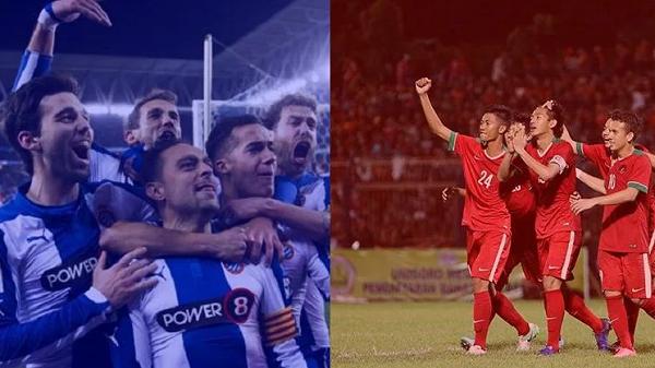 Laga Timnas U-19 vs Espanyol di GBLA Disiarkan Langsung Stasiun TV ini