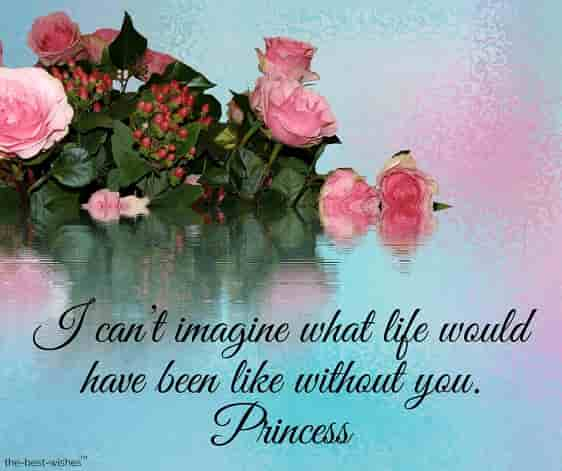 good morning love quote for princess
