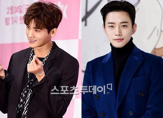 Park Hyung-sik ZEA, Lee Jon-hoo 2PM