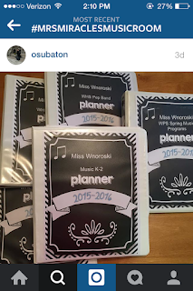 Music teacher planner: Check out this blog post for a link to this helpful planner! Post also includes hashtags for music teachers to use on Instagram!