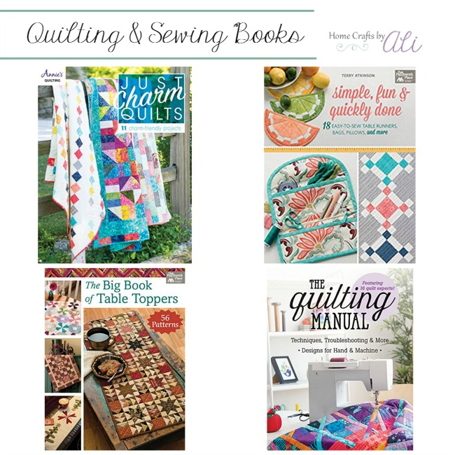 New quilt and sewing books published this week