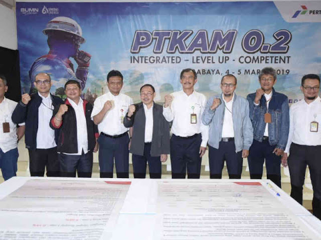 Forum Komunikasi Tandatangani Deklarasi Aksi PTKAM 0.2 Surabaya