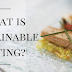What is Sustainable Eating? India's best infographics website