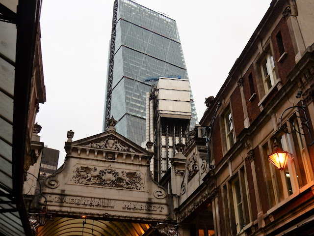 Leadenhall Market, Londres, London,  Elisa N, Blog de Viajes, Lifestyle, Travel