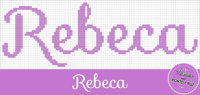 Nome Rebeca em Ponto Cruz