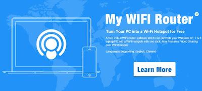 Cara Mudah Buat WiFi Dari Laptop