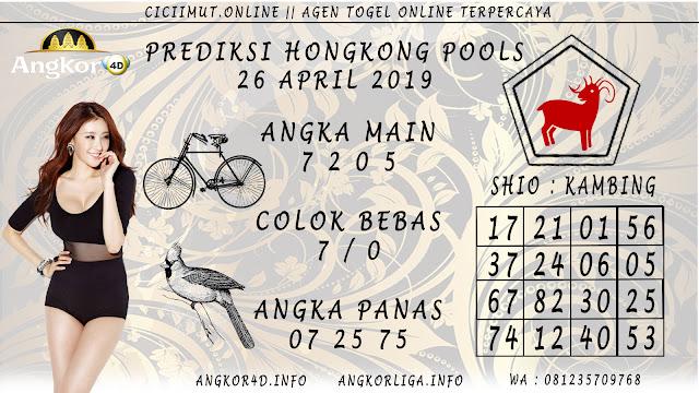 Prediksi Angka Jitu HONGKONG POOLS 26 APRIL 2019