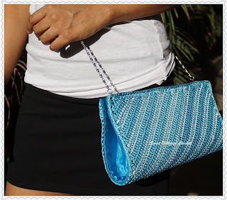 free crochet clutch purse pattern