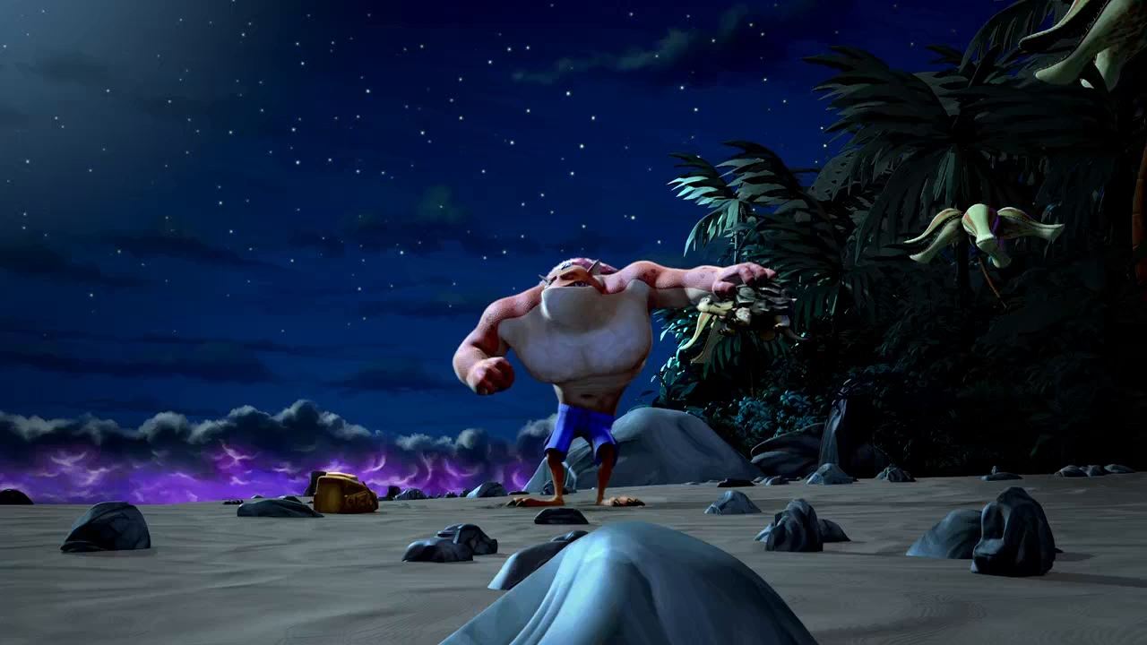La Isla de los Monstruos (2017) 720p Latino - Ingles captura 2