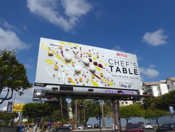 Chef's Table season 2 billboard