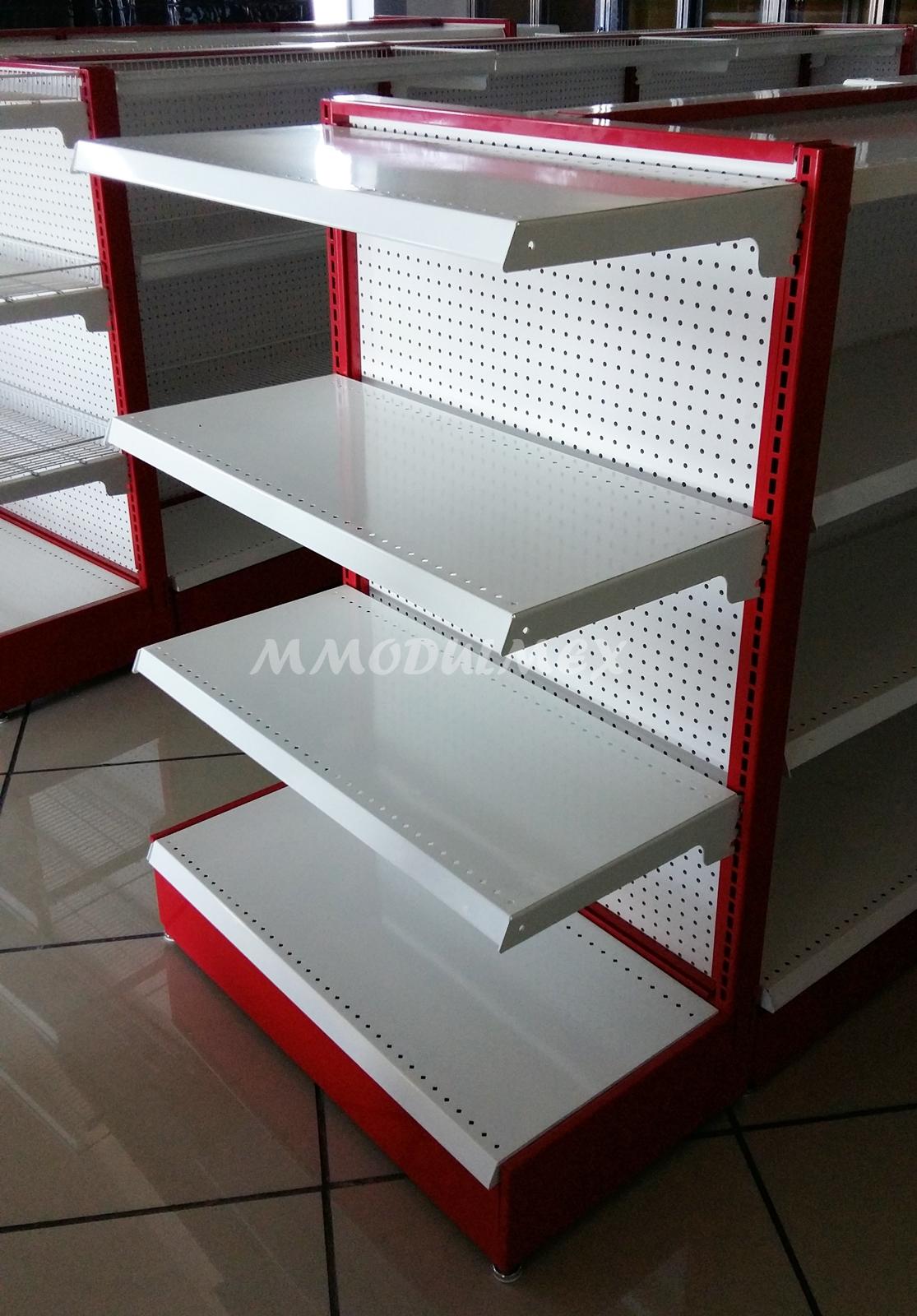 Estantes estanteria anaqueles repisas entrepa os for Muebles para supermercado