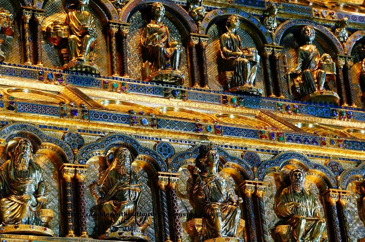 The Shrine of Three Kings, Cologne Cathedral, Germany