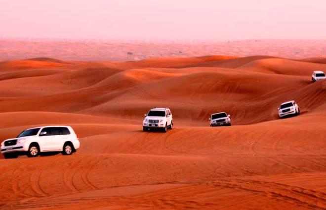 Desert Safari Umroh Plus Dubai