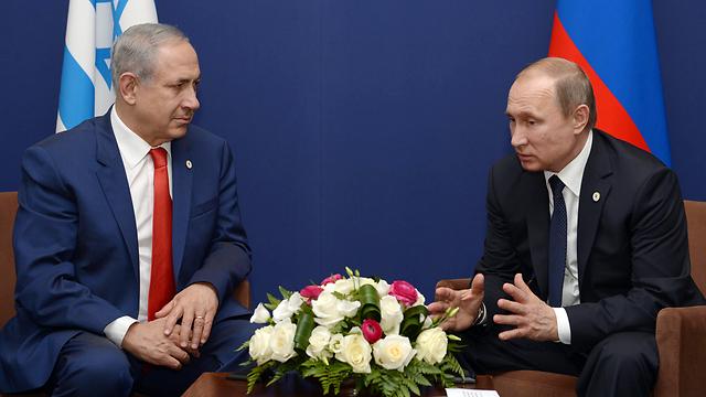 O primeiro-ministro de Israel, Benjamin Netanyahu, conversou por telefone neste sábado com o presidente da Rússia, Vladimir Putin, sobre a situação na Síria e a segurança na região, informou um comunicado oficial