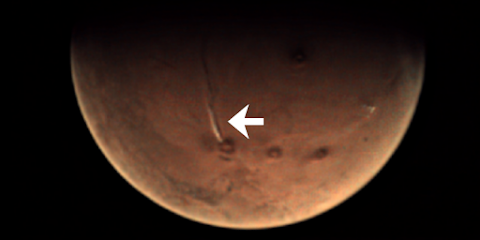 Strange Anomaly Caught On Mars