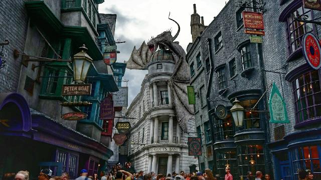 Restaurantes no Universal Studios em Orlando