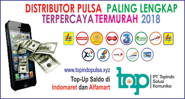TOPINDO SOLUSI KOMUNIKA | Distributor Pulsa Murah seluruh Indonesia