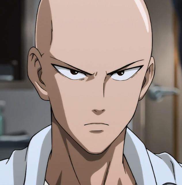 Profil Karakter Saitama di Anime One Punch Man (OPM)