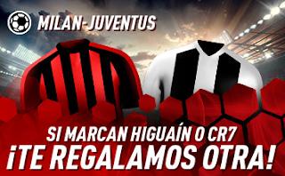 sportium Promo Milan vs Juventus 11 noviembre
