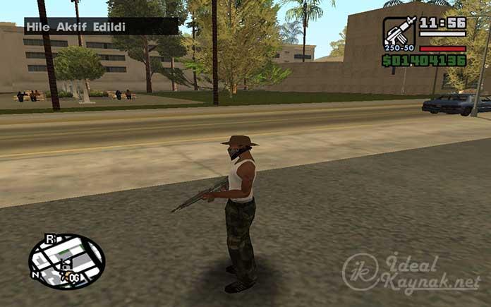 GTA San Andreas Şifreleri Nasıl Uygulanır