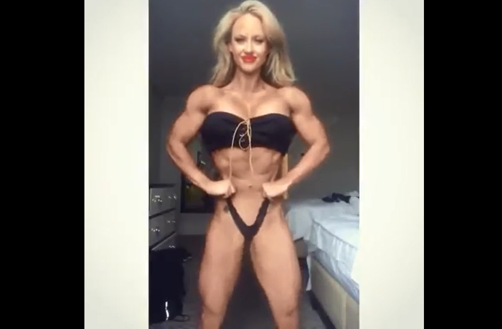 Video becoming a female bodybuilder