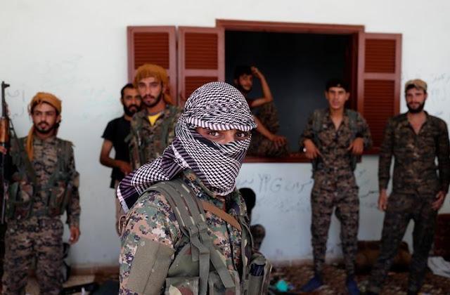 Κούρδοι μαχητές του YPG