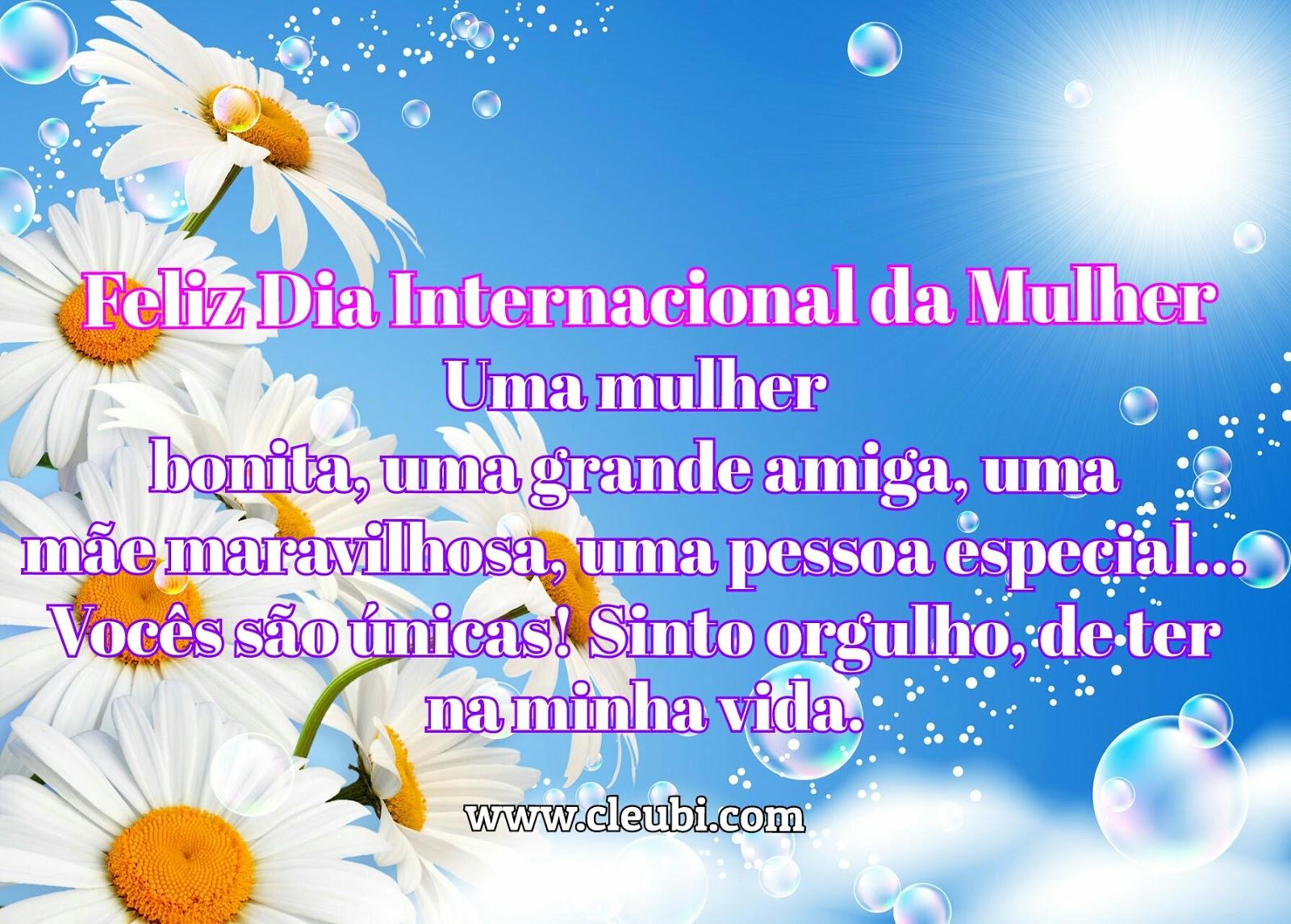 Well-known Mensagens Para O Dia Internacional da Mulher MF15