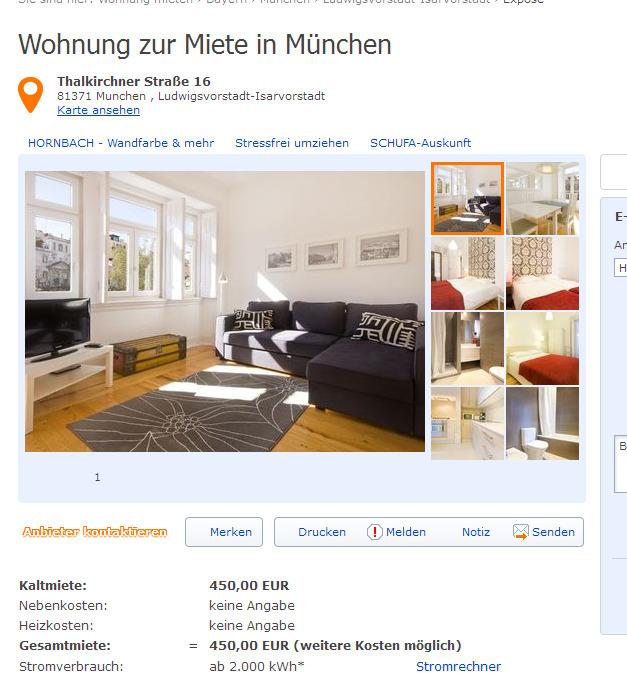 Wohnung zur Miete  Informationen ber Wohnungsbetrug