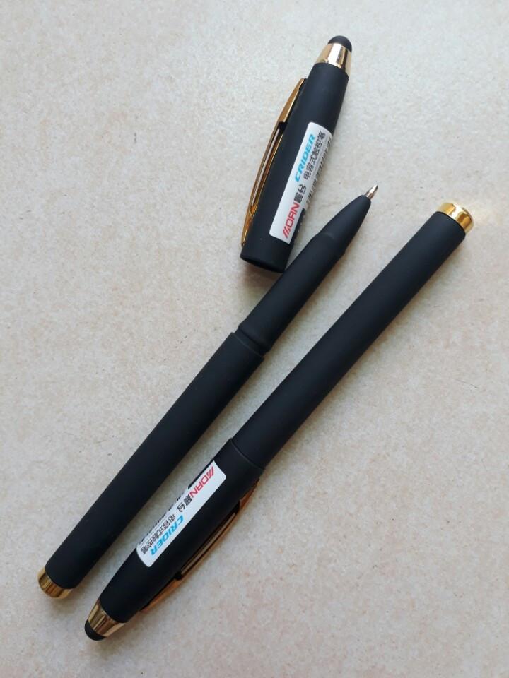 Hộp viết đen 12 cây Crider Z-113 kiêm bút cảm ứng Touch Pen