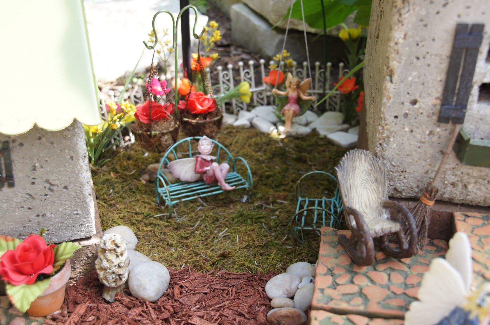 Home and Gardening With Liz: Fantasy Fairy Garden 2018