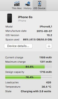 How to Run iPhone Battery Diagnostics on MAC