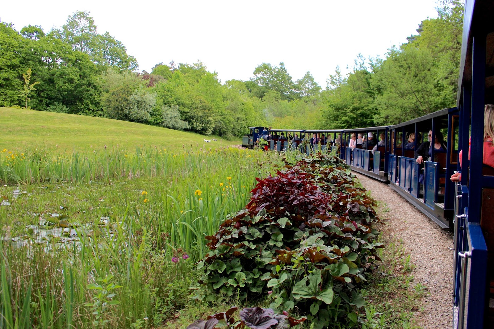 Exbury Gardens Steam Train ride