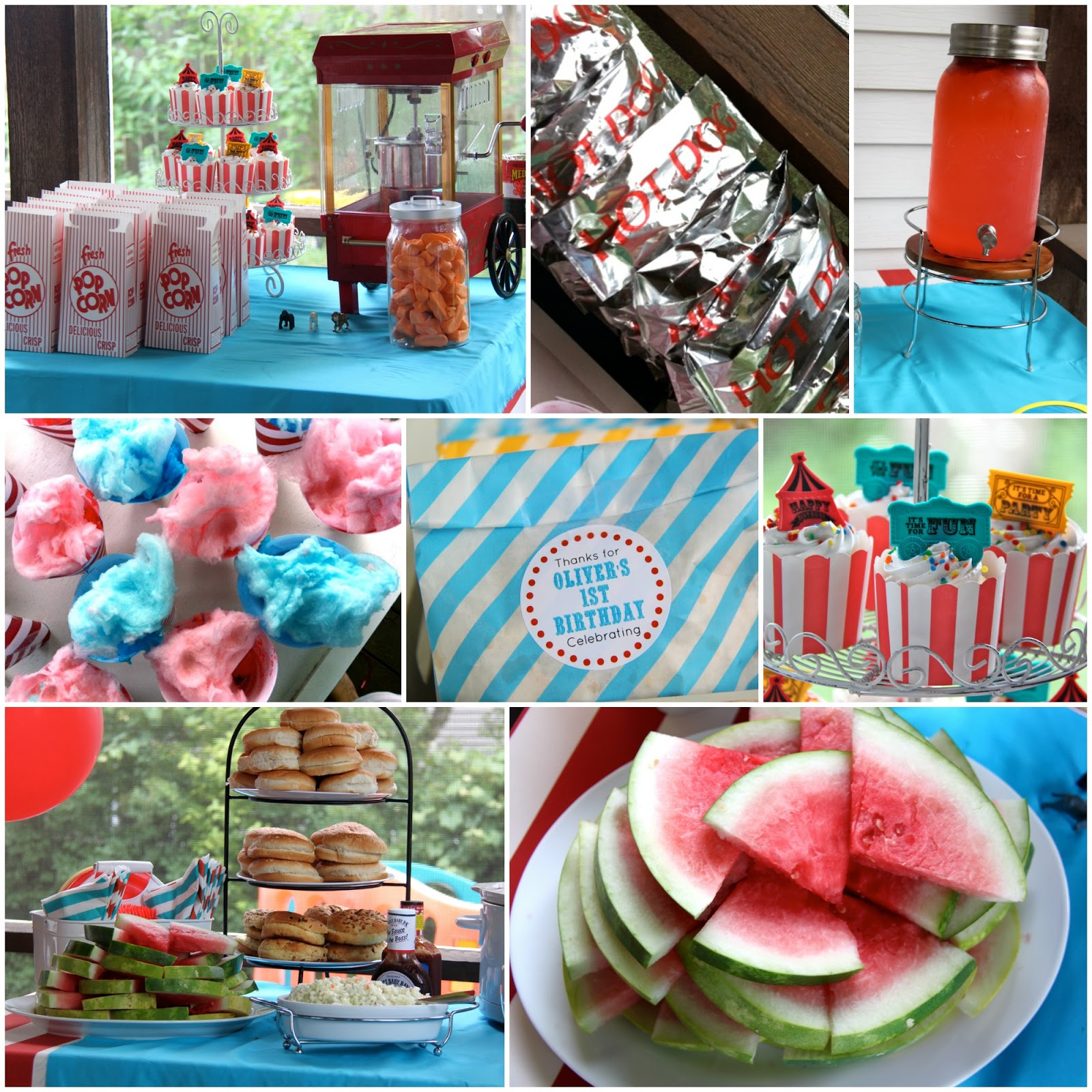 Oliver's First Birthday: A Circus Party!