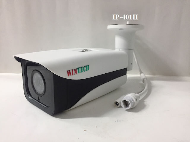 Camera IP WinTech IP-401H Độ phân giải 2.0 MP
