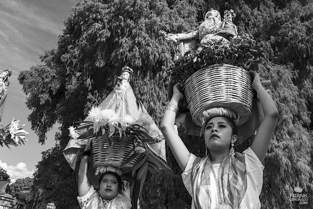 chinas oaxaqueñas en fiesta patronal