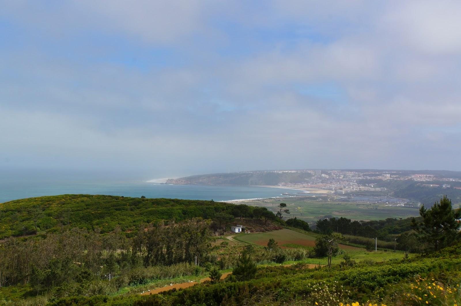 Route des crêtes de Nazaré à Obidos - Portugal