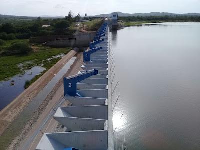 Resultado de imagem para imagens da barragem de ponto novo