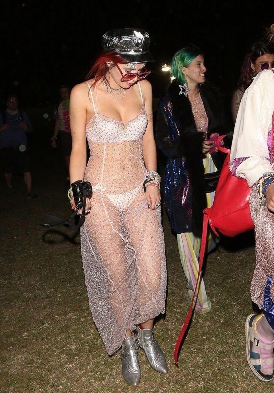 Bella Thorne – Evening of Fun at Coachella in Indio