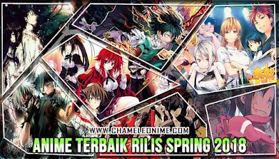 rekomendasi daftar judul anime rilis musim spring 2018