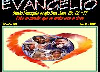 Resultado de imagen para EN aquel tiempo, dijo Jesús a sus discípulos: «Este es mí mandamiento: que os améis unos a otros como yo os he amado.