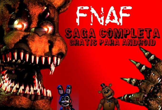 Five Nights at Freddy's SAGA COMPLETA PARA ANDROID