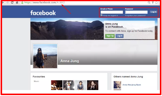 See Private Facebook