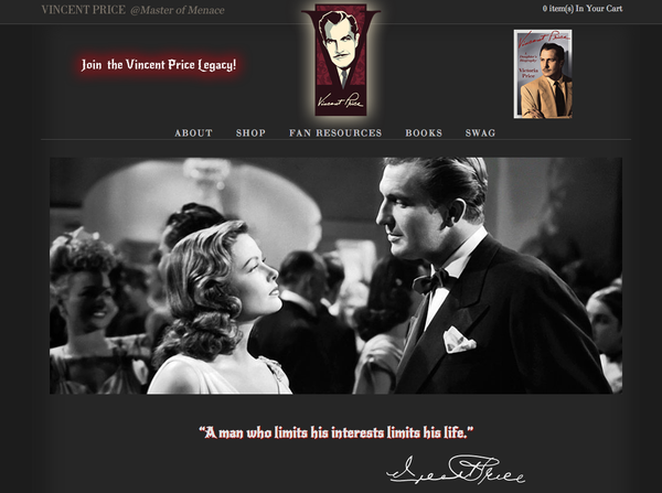 http://www.vincentprice.com/