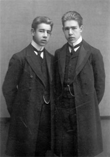 Harald Bohr Niels Bohr