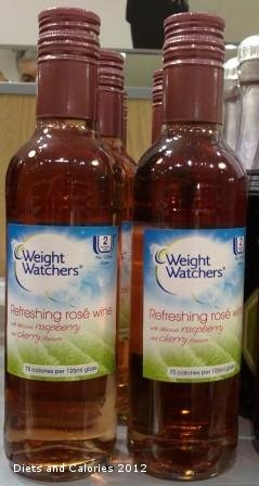 Diets And Calories Weight Watchers Red And White Wines